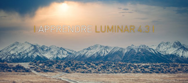Video Tutorial Apprendre Luminar 4 Luminar