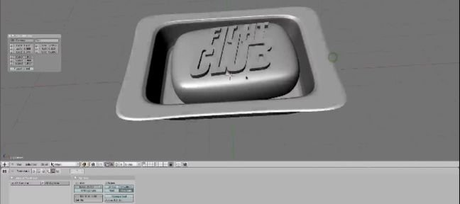 Tuto Modéliser un savon Fight Club Blender