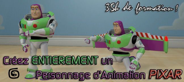 Personnage 3D