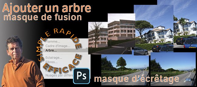 Tuto Photoshop : comment ajouter un arbre ? Photoshop