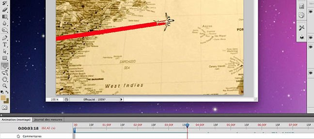 Tuto Créez animation cartographique à la Indiana Jones Photoshop