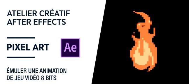 Tuto Atelier créatif After Effects gratuit - Simuler un Effet Pixel Art After Effects