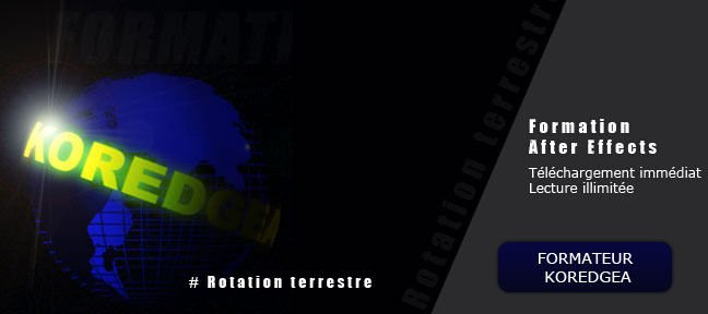 Tuto Rotation terrestre After Effects