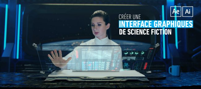 Tuto Créer une interface graphique de science fiction After Effects