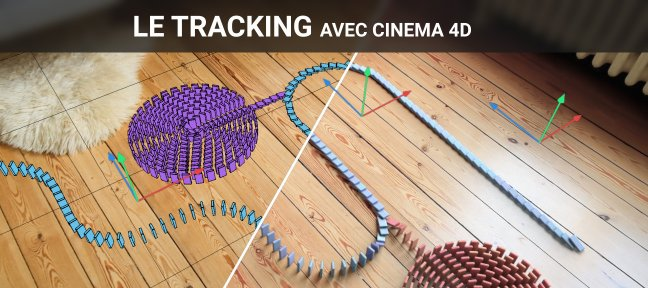 Video Tutorial Le tracking avec Cinema 4D Cinema 4D