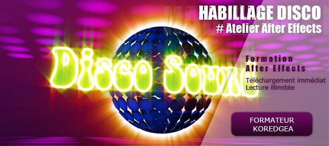 Tuto Habillage disco After Effects