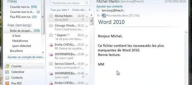 Le mode protégé de Word 2010