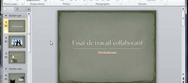 Tuto Découverte du mode Backstage PowerPoint