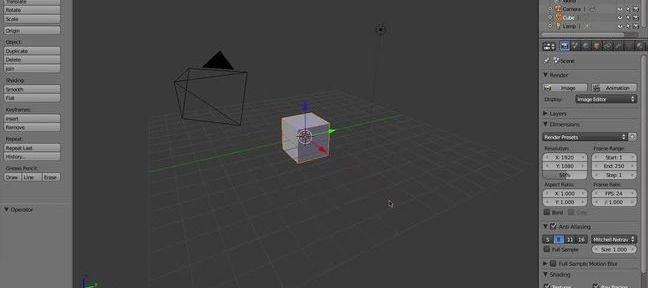 tuto cr er un jeu avec blender 2 5 sur. Black Bedroom Furniture Sets. Home Design Ideas