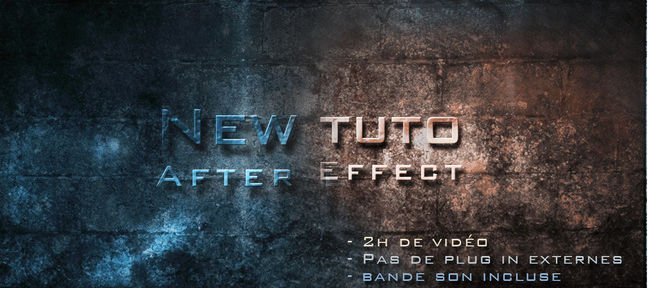 Tuto Créer un teaser After Effects