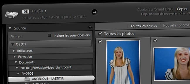 Tuto Importer ses photos dans lightroom Lightroom