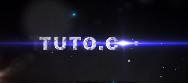 Tuto Optical Flare et Particular pour une animation originale After Effects