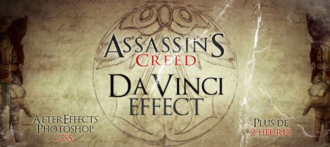 Reproduction du style Davinci d'assassin's creed