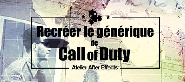 Tuto After Effects Call of Duty After Effects