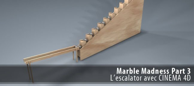 Marble Madness partie 3 : l'escalator