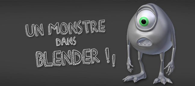 Blender : Modéliser un monstre !