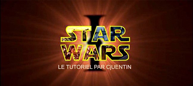Tuto Créer le générique de Star Wars After Effects