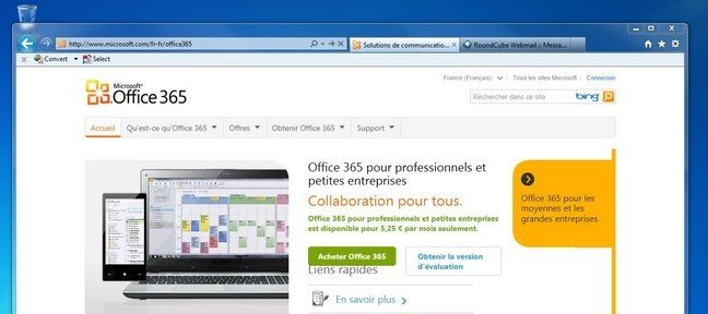 tuto ouvrir un compte office 365 avec office 365 sur. Black Bedroom Furniture Sets. Home Design Ideas