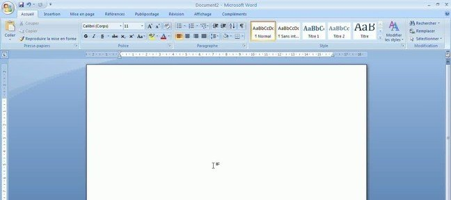 Tuto Configurer un document de type carte de voeux Word