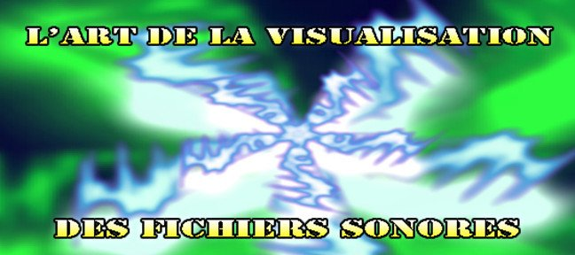 L'art de la visualisation de fichiers audio.