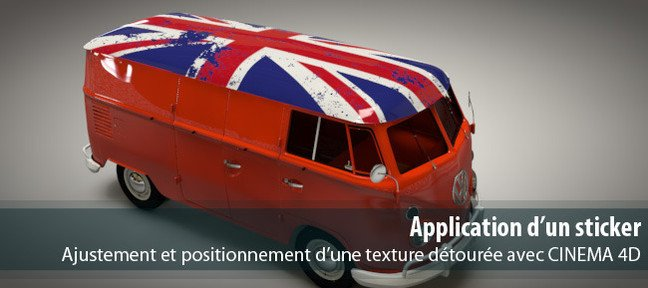 Application d'un sticker