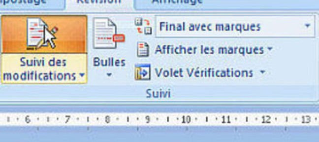Tuto Suivi des modifications Word