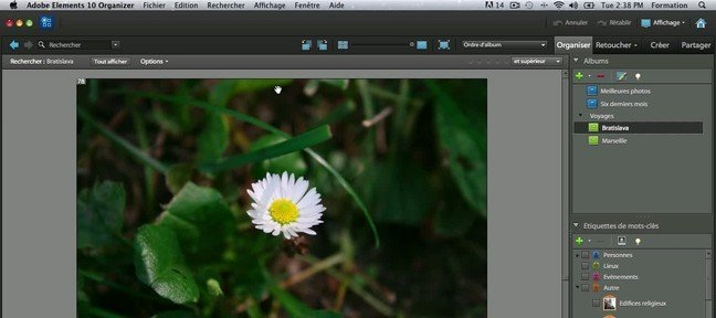 Tuto Le mode retouche rapide Photoshop Elements