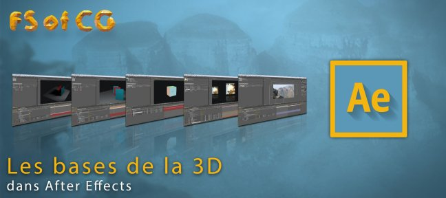 Les bases de la 3D dans After Effects