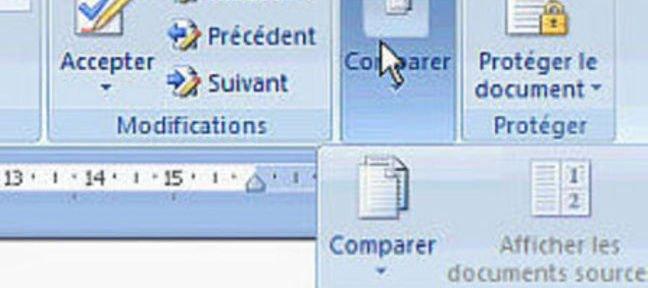 Tuto Comparer deux documents Word
