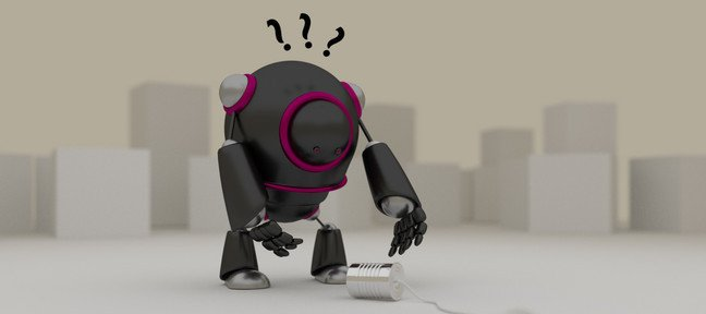 Robot Cartoon en 3D