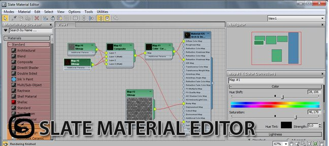 Tuto Slate Material Editor 3ds Max