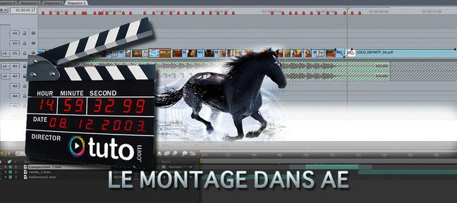 Tuto Retoucher un montage After Effects