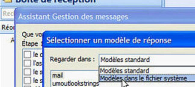Tuto Notification d'absence au bureau Outlook