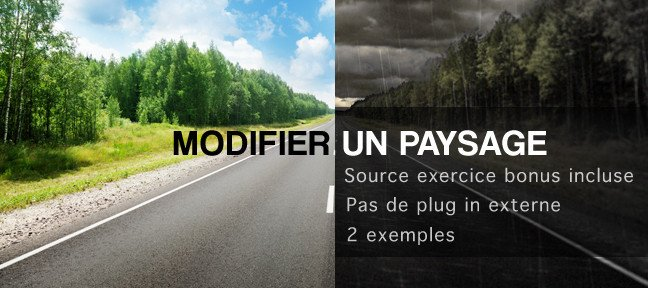 Modification de paysages