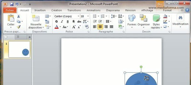Tuto Personnaliser une forme PowerPoint