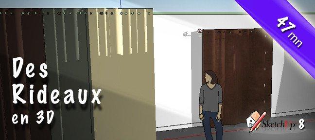 tuto cr ation d 39 une ville futuriste avec sketchup 8 sur. Black Bedroom Furniture Sets. Home Design Ideas