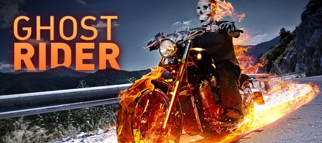 Composition Ghost Rider