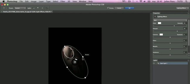 tuto photoshop cs6 effets de lumi res avec photoshop cs6 sur. Black Bedroom Furniture Sets. Home Design Ideas