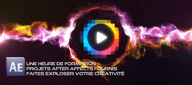 Animation Logo Particules