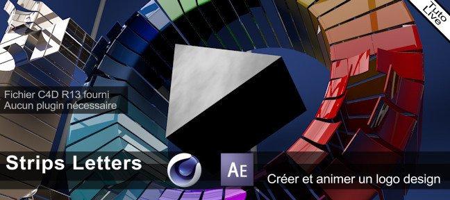creer un logo avec cinema 4d