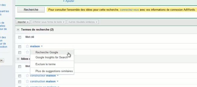 Tuto Google Insights for Search , les tendances des recherches Referencement SEO