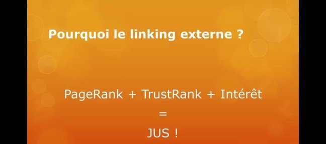 Tuto Linking Referencement SEO