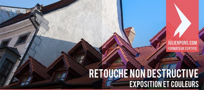 Tuto Retouche non destructive exposition et couleurs Photoshop