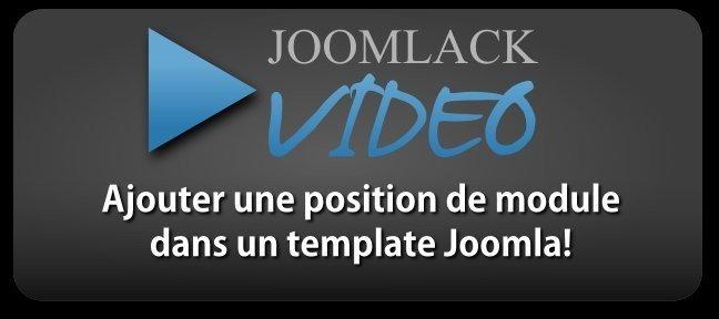 tuto ajouter une position de module dans un template joomla avec joomla 2 sur tuto com