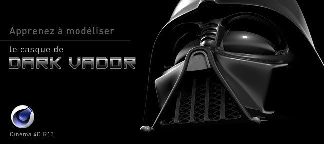 Tuto Modéliser le casque de DARK VADOR Cinema 4D