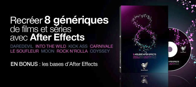 Tuto 8 génériques After Effects After Effects