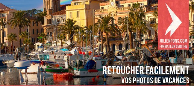 Retoucher facilement vos photos de vacances