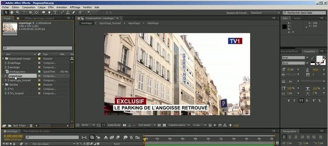 Tuto SaveCompAsProject After Effects