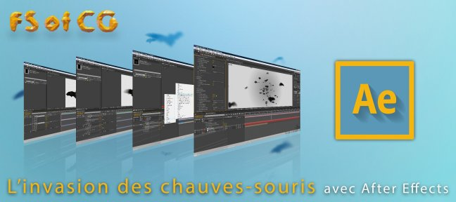 Tuto L'invasion de chauve-souris After Effects