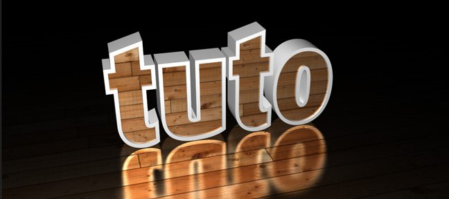 Tuto Simulation de texture sur des extrusions After Effects